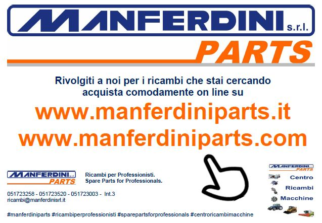 nuovo ecommerce manferdini parts